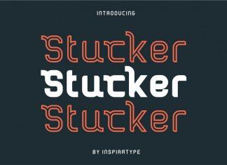 Stucker - Regular, Bold & Inline Font