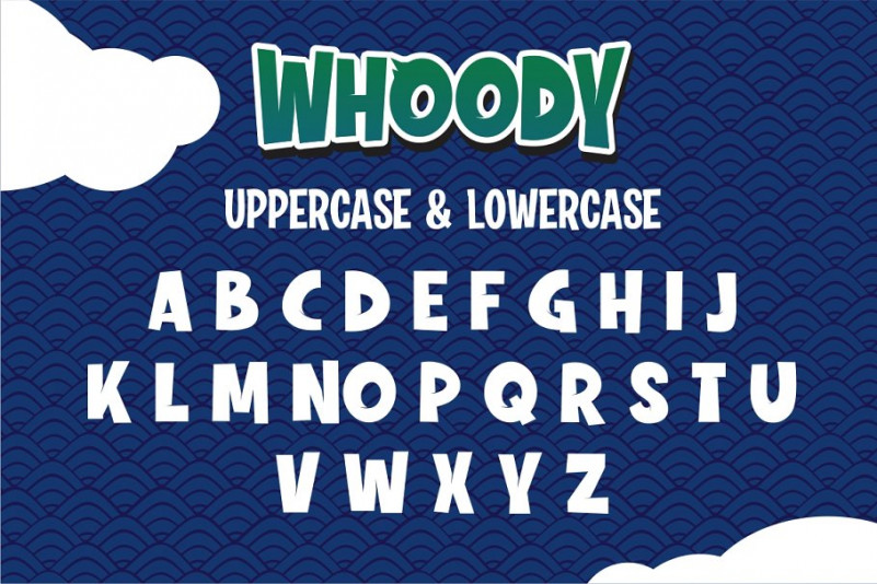 Whoody Font