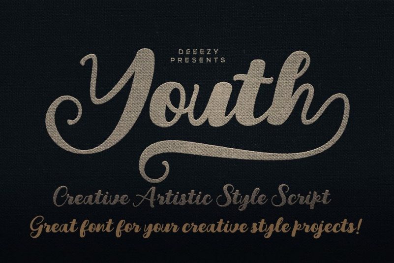 Youth Script Font