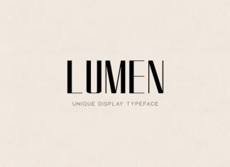 LUMEN - Display Font