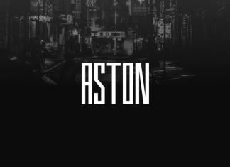 ASTON - Display / Logo Typeface