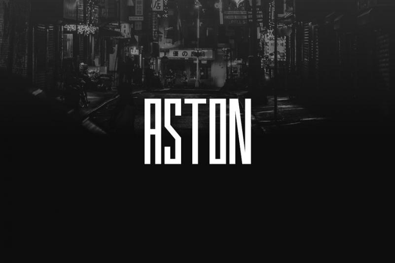 ASTON - Display / Logo Typeface