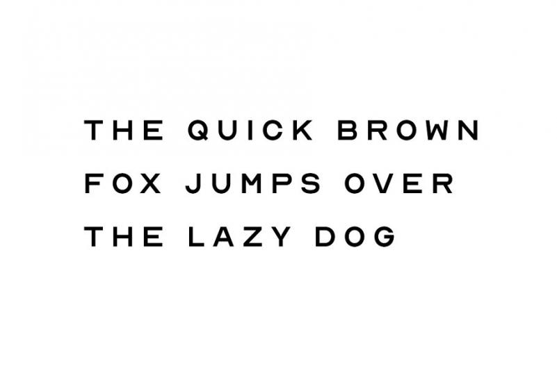 NORD - Minimal Display Typeface