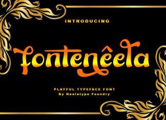 Fonteneela - Playful Font