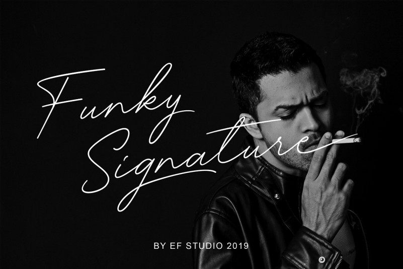 Funky Signature - Funky Fonts