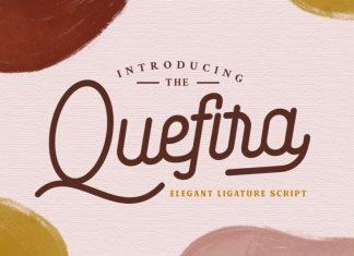 Quefira // Aesthetic Script Font