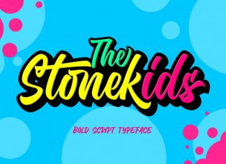 Stonekids - Layered Script