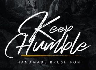 Keep Humble Font