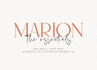 MARION & The Essentials - Logo Font