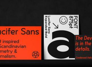Lucifer Sans Font Family