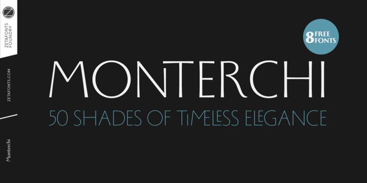 Monterchi Font Family