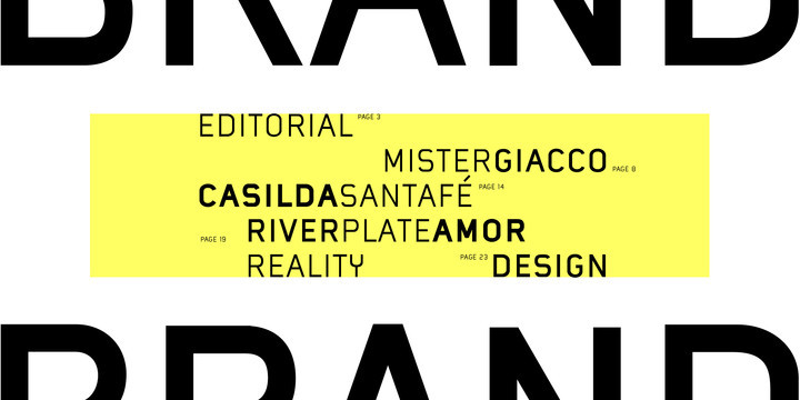 Mister Giacco Pro Font Family
