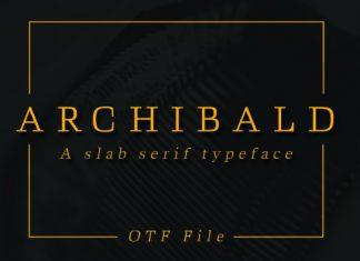 Archibald Font