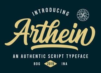 Arthein Font