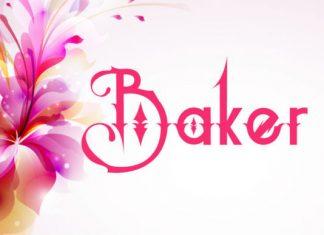 Baker Font