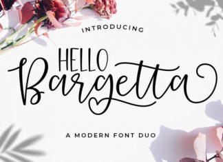 Bargetta Duo Font