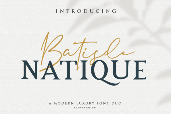 Batisde Natique Font