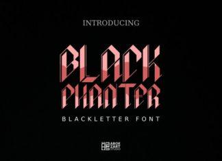 Black Phanter Font