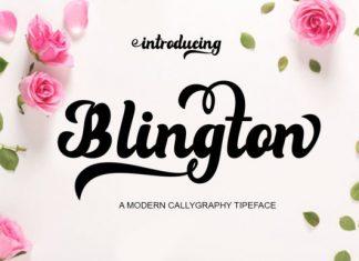 Blington Font