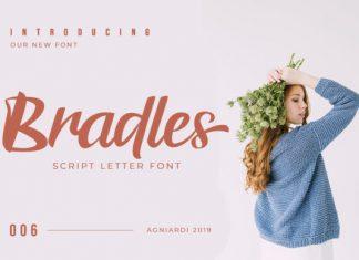 Bradles Font