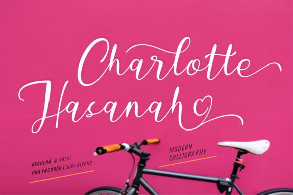 Charlotte Hasanah Font