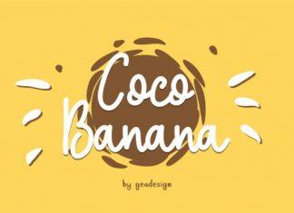 Coco Banana Font