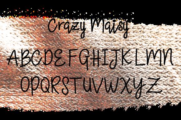 Crazy Maisy Font