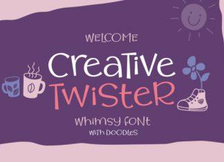 Creative Twister Font
