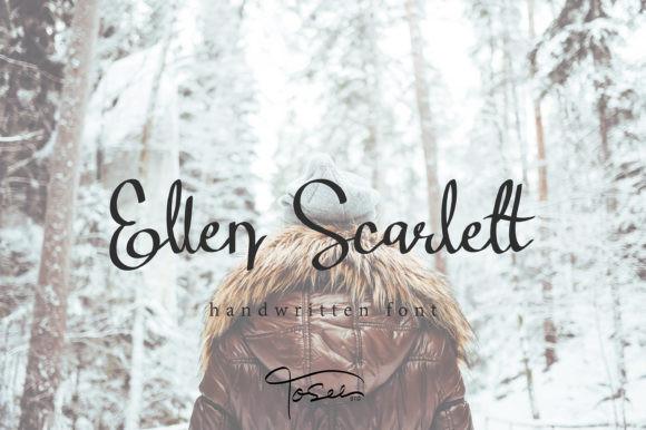 Ellen Scarlett Font
