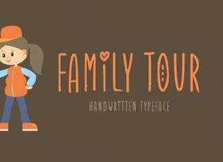 Family Tour Font