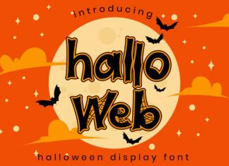 Halloweb Font