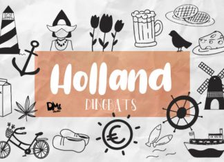 Holland Dingbats Font
