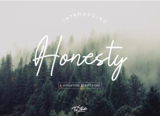 Honesty Font