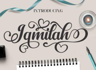 Jamilah Script Font