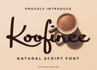 Koofinee Font