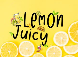 Lemon Juicy Font