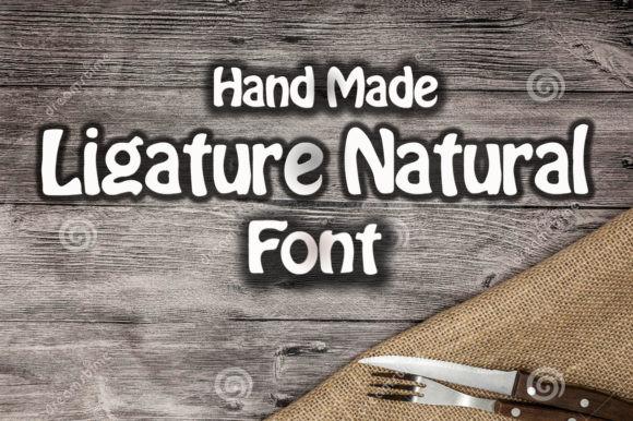 Ligature Natural Font