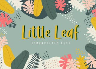 Little Leaf Font