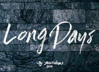 Long Days Font