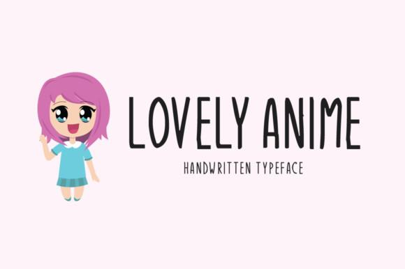 Lovely Anime Font - iFonts xyz