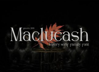 Maclucash Font