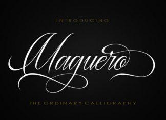 Maguero Script