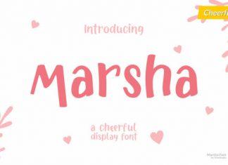 Marsha Font