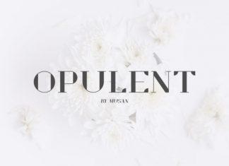 Opulent Font