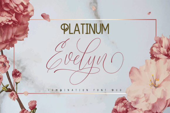 Platinum Evelyn Duo Font