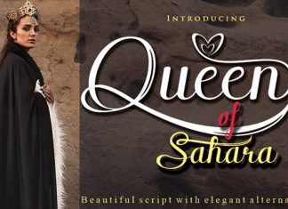 Queen of Sahara Font