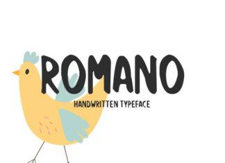 Romano Font