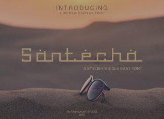 Santecha Font