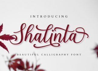 Shalinta Font