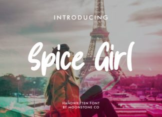 Spice Girl Font